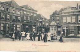 CPA - Pays-Bas - Tiel - Groenmarkt - Tiel