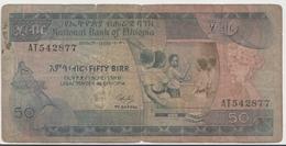 ETHIOPIA P. 39 50 B 1976 G - Etiopía