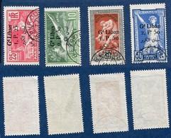 Colonie Française, Grand Liban N°45/48 Oblitéré, Qualité Très Beau - Grand Liban (1924-1945)