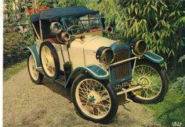 Peugeot Quadrilette Type 161  -  1914  -  Publicité Trophires Carte Postale - Passenger Cars
