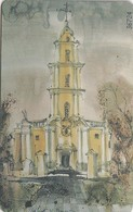 LITUANIA. CHIP. Panevezys Christ King Cathedral. LT-LTV-C034. (061). - Lituania