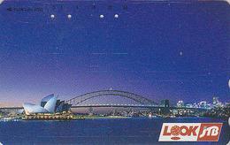 Télécarte Japon / 290-32952 - Site AUSTRALIE - JTB - Musique - OPERA DE SYDNEY - AUSTRALIA Japan Phonecard - 145 - Landschappen
