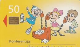 LITUANIA. CHIP. Konferencija (Conference). LT-LTV-C036. (023). - Lituania