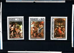 6605B)  PARAGUAY-1967--NATALE-QUADRI -MNH** - Paraguay