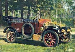 Renault Torpedo 4 Places -  1908  -  Publicité Trophires Carte Postale - Passenger Cars