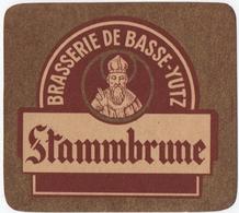 ETIQUETTE. BASSE-YUTZ (57) BIERE. STAMMBRUNE. - Autres