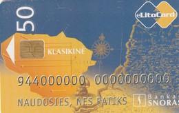 LITUANIA. CHIP. Snoras Bankas 2. LT-LTV-C037. (027). - Lituania