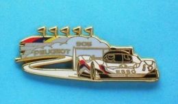 1 PIN'S  //   ** PEUGEOT 905 / ESSO ** . (Arthus Bertrand Paris) - Peugeot