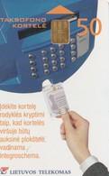 LITUANIA. CHIP. Payphones Operation Manual. LT-LTV-C039. (029). - Lituania