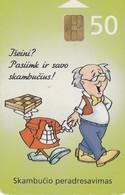 LITUANIA. CHIP. Call Forwarding. LT-LTV-C040. (067). - Lituania