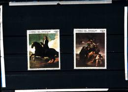 6608B)  PARAGUAY-1969--CENTENNARIO DELL'EPOPEA NAZIONALE-QUADRI -MNH** - Paraguay