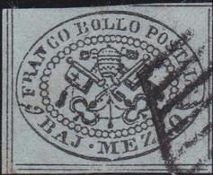 Vatican   .     Yvert    .  1     .       O         .     Oblitéré     .    /   .   Cancelled - Stato Pontificio