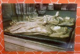 Statues Gisantes D'Henri II Et De Cathérine De Médicis - Tomba Saint Denis  CARTOLINA Non Viaggiata - Sculture