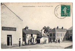 CHEVRY-COSSIGNY - Entrée De La Ville Par Brie - Other Municipalities