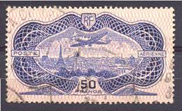 1358) P.A. N°15 Oblitéré Cote 400€ - Poste Aérienne