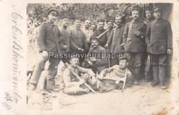 CARTE PHOTO ALLEMANDE IR 67  ?  1916  ARBEITSKOMMANDO - Guerre 1914-18
