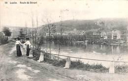 Lustin - Route De Dinant (animée, 1911, Dames) - Profondeville