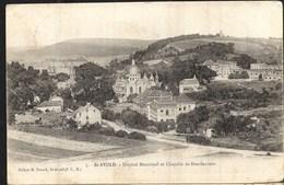 Saint Avold Hôpital Municipal Et Basilique Alors Appelé Chapelle De Bon Secours - Saint-Avold