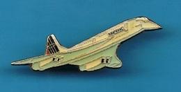 1 PIN'S //  ** AVION DE LIGNE / LE CONCORDE / AIR FRANCE / QUADRIRÉACTEURS SUPERSONIQUE ** . (J.Y. Ségalen) - Avions
