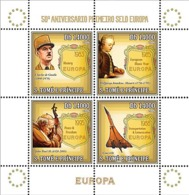 S. TOME & PRINCIPE 2006 - 50th Anniversary First EUROPE Stamp (CEPT,De Gaulle) 4v - YT 2002-2005,  Mi 2749-2752 - Sao Tomé E Principe