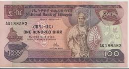 ETHIOPIA P. 34a 100 B 1976 VF - Etiopía