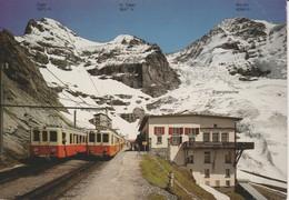 (CH1199) STATION EIGERGLETSCHER. ELECTRIC TRAINS - BE Berne