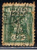 POLOGNE 283 // YVERT 153 // 1919 - Usados