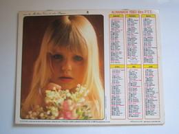 1983 ALMANACH DES P.T.T Calendrier Des Postes HAUTE-MARNE 52 - Calendriers