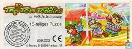 BPZ Top Ten Teddies - Volksfesrstimmung - Puzzle - Ü-Ei