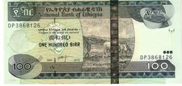 Ethiopia P.52f 100  Birr 2012 Unc - Etiopia