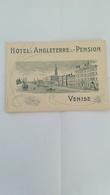 HOTEL D'ANGLETERRE ET PENSION VENISE - Adesivi Di Alberghi
