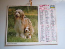 1988 ALMANACH DES P.T.T Calendrier Des Postes HAUTE-MARNE 52 - Calendriers