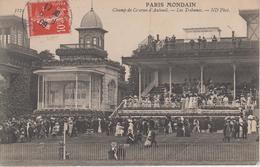 CPA Paris - Paris Mondain - Champ De Courses D'Auteuil - Les Tribunes (belle Animation) - Frankreich