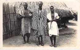 AFRIQUE NOIRE - GUINEE FRANCAISE - Chef Manon- CPSM Photo N/B Format CPA - Black Africa - Guinée Française