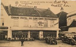 Grand Hôtel Du Lion Carte Publicitaire - Waterloo