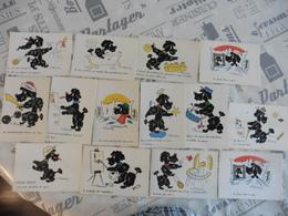 LOT   DE  15      CARTES   POSTALES  DE MEUNIER   EDITIONS  VAYSSE - 5 - 99 Cartes