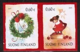 2009 Finland, Christmas, Pair MNH. - Finland