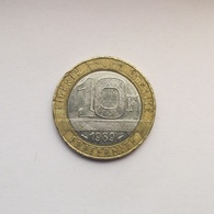 10 Francs Münze Aus Frankreich Von 1989 (schön) - K. 10 Francs