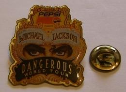 MICHAEL JACKSON PEPSI DANGEROUS WORLD TOUR Pin Pin's Pins - Music