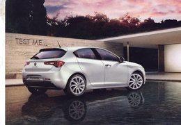 Alfa Romeo Giulietta  -  Publicité D'epoque  -  CPM - Turismo