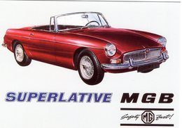 Superlative MGB  -  Publicité D'epoque  -  CPM - Turismo
