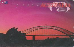Télécarte Japon / 110-011 - AUSTRALIE - Musique - OPERA DE SYDNEY / AUSTRALIA Rel Japan Phonecard - Site 157 - Landschappen