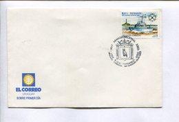 ARMADA NACIONAL, R.O.U. PAYSANDU. URUGUAY 2003. SOBRE PRIMER DIA FDC ENVELOPE -LILHU - Uruguay