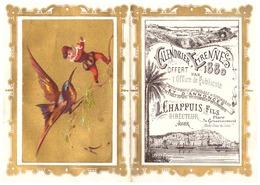 CALENDRIER ETRENNES 1880 OFFERT PAR L'OFFICE DE PUBLICITE -L. CHAPPUIS FILS  ALGER  Maison Bazar Du Commerce - Calendriers