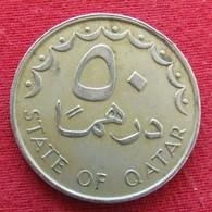 Qatar 50 Dirhams 1981 / 1401 KM# 5 Catar Katar - Qatar