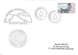 TAAF - Dumont D'Urville-T.Adélie: Lettre Avec Timbre N°188 Pommier - 05/02/1995 - Terres Australes Et Antarctiques Françaises (TAAF)