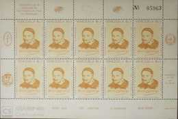 O) 1985 VENEZUELA, SAINT VINCENT DE PAUL - FRENCH PRIEST- GALLEGOS MEMORIAL SC 1334 - MNH - Venezuela
