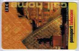 Passport Telecom - Louvre 7.5 € - Rare - Voir Scans - France