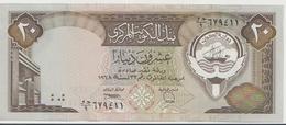 KUWAIT P. 16b 20 D 1980 AUNC - Kuwait