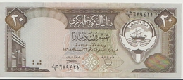 KUWAIT P. 16b 20 D 1980 AUNC - Koeweit